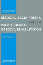 Resocjalizacja Polska - Polish Journal - 7-2014